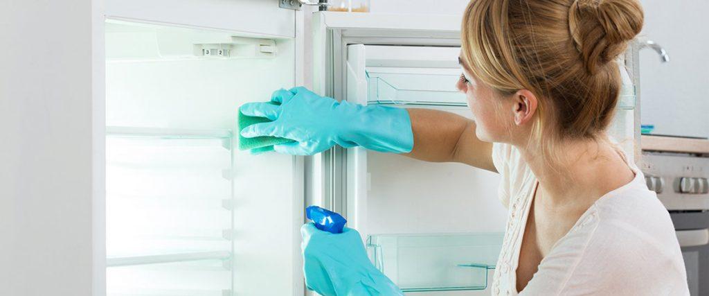 как помыть холодильник и чем