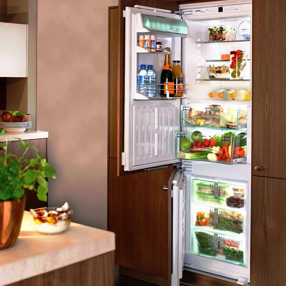 Узкие холодильники шириной 40, 45, 50 и 55 см + рейтинг лучших моделей