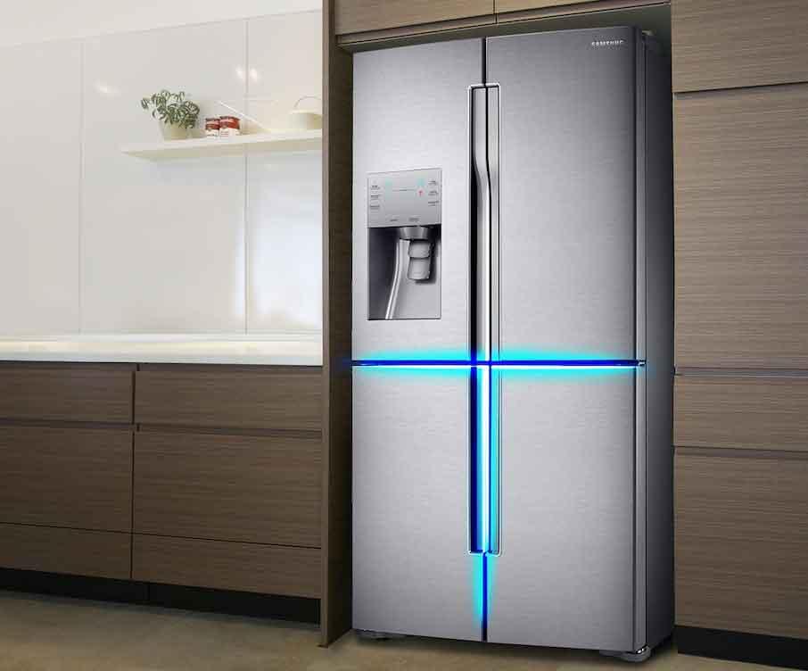 Двухдверный холодильник: размеры, ширина и параметры