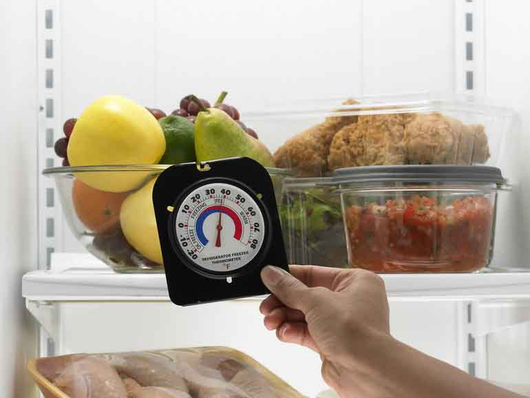 Какая температура должна быть в холодильнике и морозильной камере