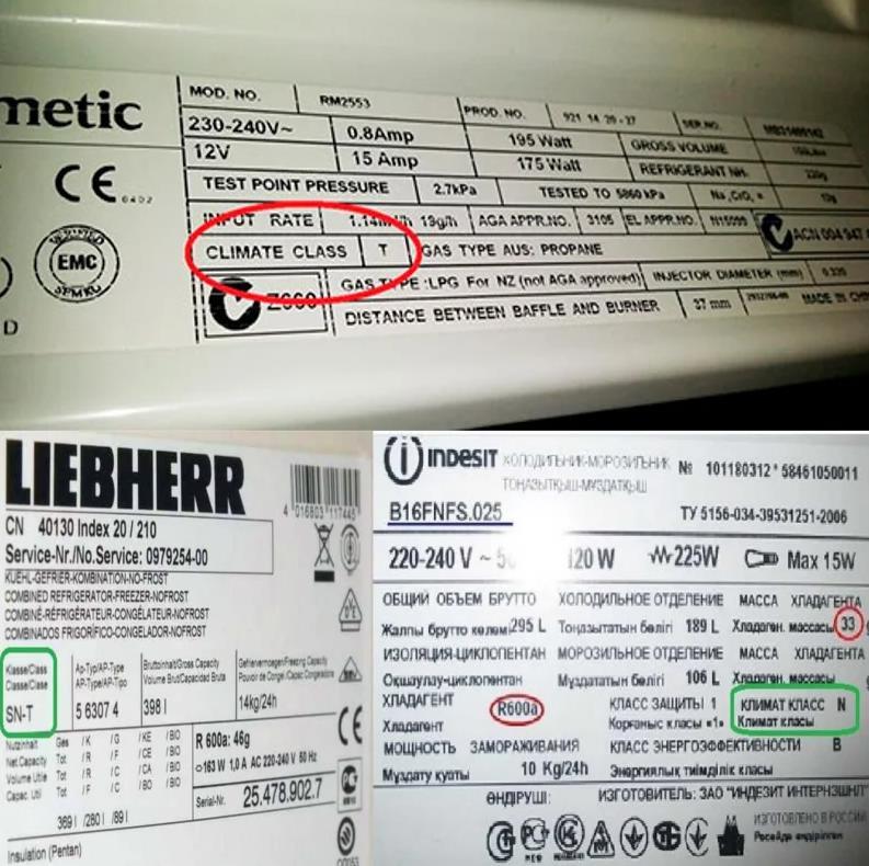 Что такое климатический класс холодильника и какой лучше выбрать?