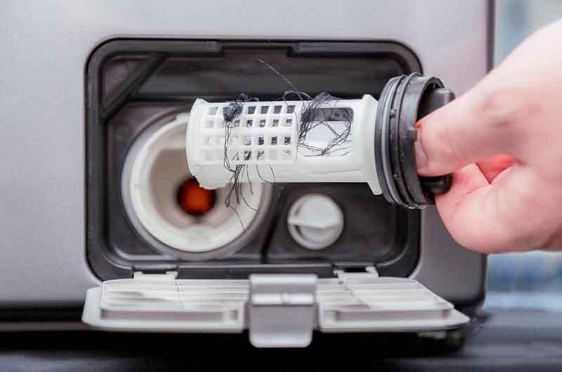 Как почистить фильтр в стиральной машине и где он находится