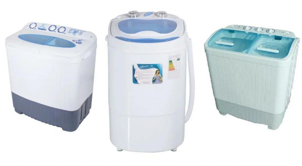 Рейтинг стиральных машин Малютка и Малышка с отжимом для дачи
