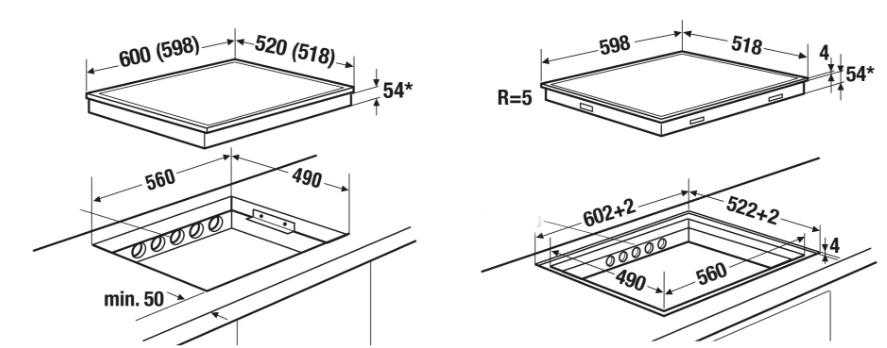 Как установить варочную панель в столешницу своими руками