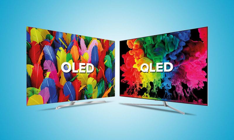 OLED или QLED телевизоры - что лучше и в чем разница